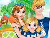 Anna Et Le Bébé Acheter Le Parent Et L'Enfant Vêtement