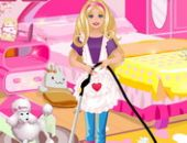 Barbie Nettoyage Slacking