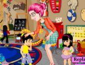 Des Enseignants Du Préscolaire en ligne jeu