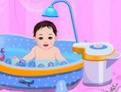 Doux Le Bain De Bébé