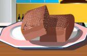 Francais brownie au chocolat