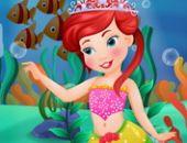 La Petite Sirène Ariel Maquillage