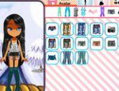 Les Jeunes Filles Avatar Creator en ligne jeu