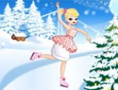 Patinage Sur Glace Princesse Jeu
