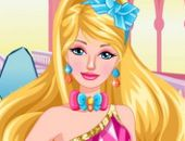 Princesse Barbie Relooking Visage