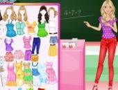 Soft Barbie Teacher en ligne jeu