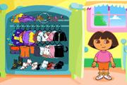 Dora jeu d'habillage