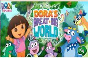Dora Magnifique Big monde Jeu