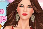 Selena Rocks le Maquillage de scène