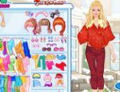 Barbie Robe D'Hiver Jusqu'