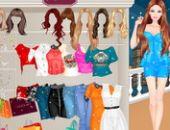 Barbie Vie Nocturne Shopping