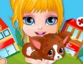 Bébé Barbie Blessés Animal De Compagnie