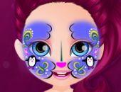 Bébé Barbie Hobbies, La Peinture Du Visage