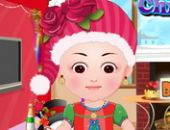Bébé Hazel Noël Dress Up en ligne jeu