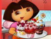 Dora Savoureux Petits Gâteaux en ligne jeu