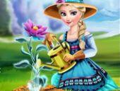 Elsa Fleur De Glace Jeu