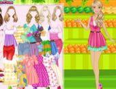 Habiller Barbie Fruiterer Jeu