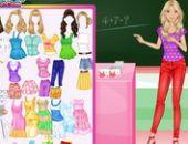 Soft Barbie Teacher en ligne jeu