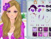 Violet Glamour De Dressup Jeu